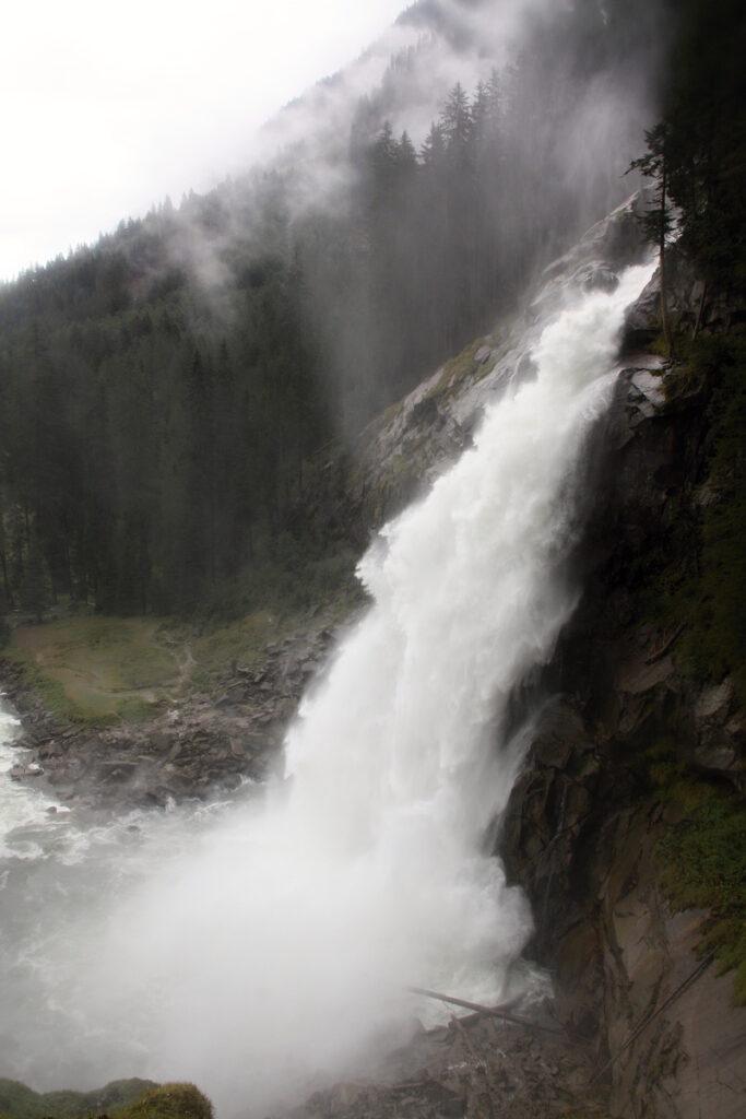 Pod vodopády